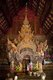 Thailand: The interior of the viharn at Wat Pong Yang Khok, Ko Kha, Lampang Province